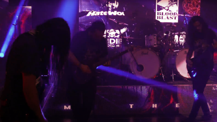 ESHTADUR – Murder of Crows 'From the Abyss Live Sessions' – (HateWorks, 2021)